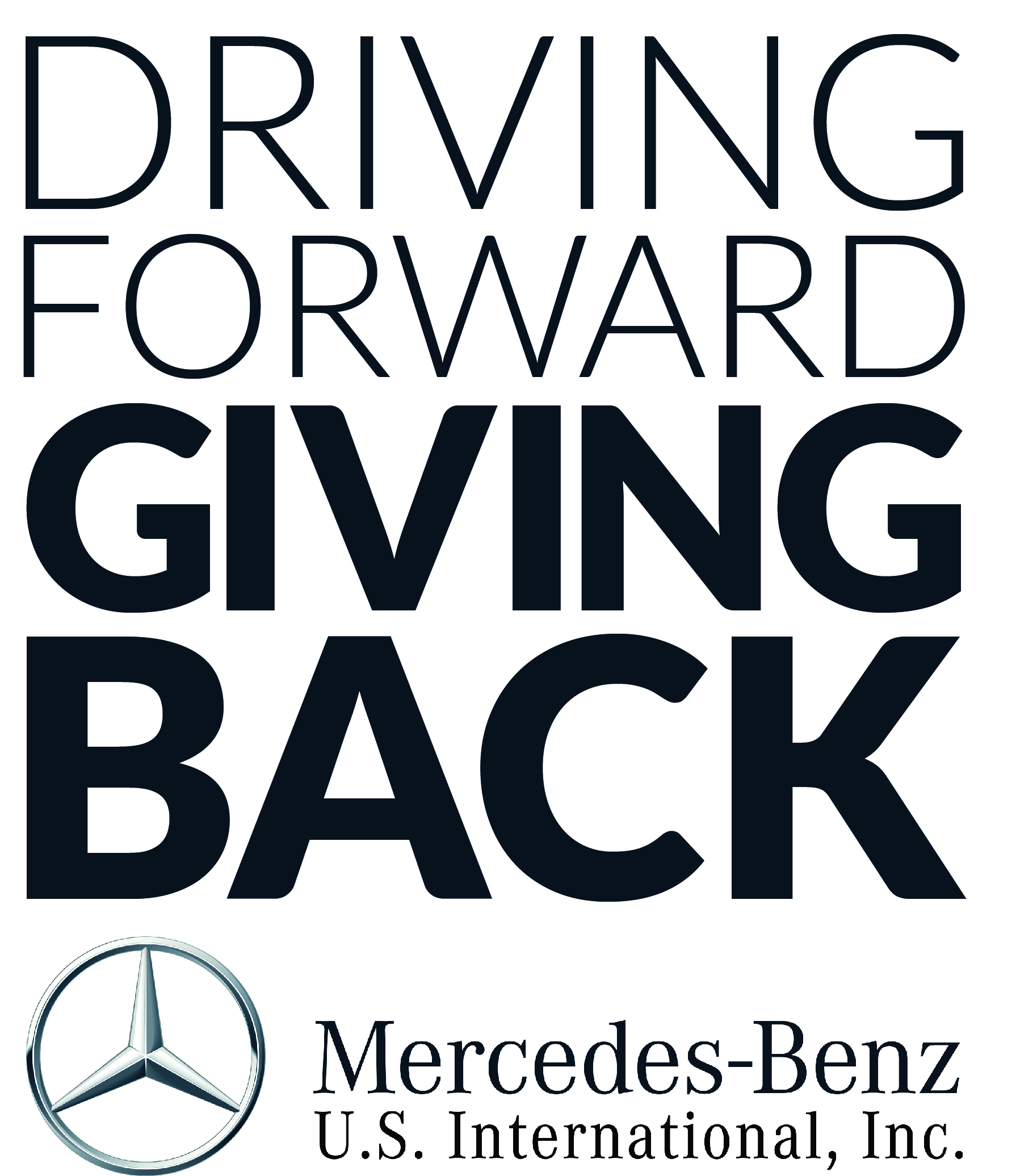 Mercedes Benz Volunteer Logo