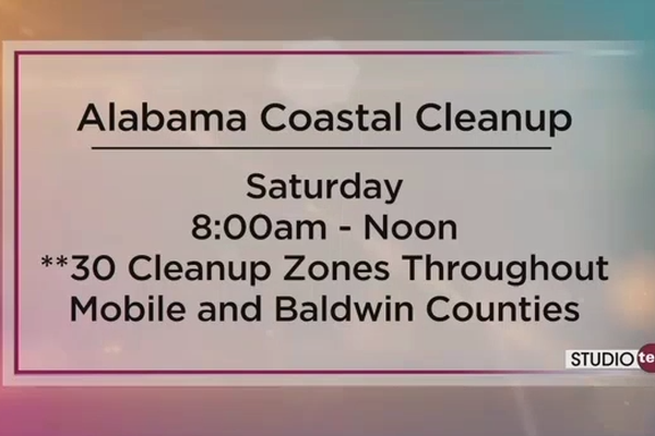 Alabama Coastal Cleanup featured on Fox 10