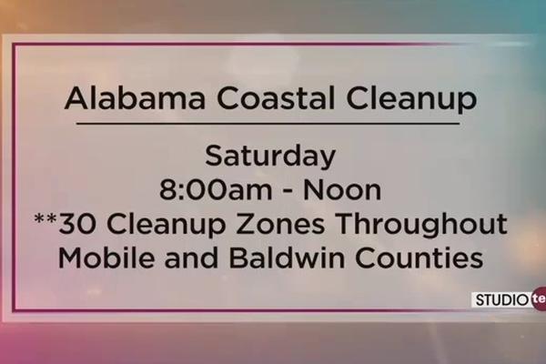 Alabama Coastal Cleanup featured on Fox 10