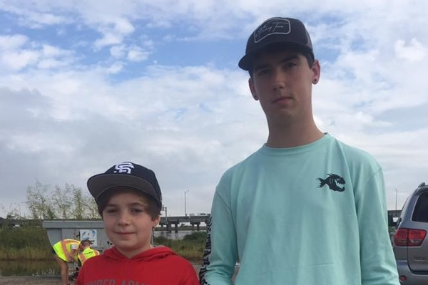Local teens take the high road at Coastal Cleanup
