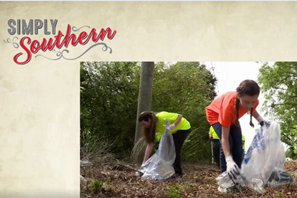 ALPALS Spring Cleanup Featured on Simply Southern TV