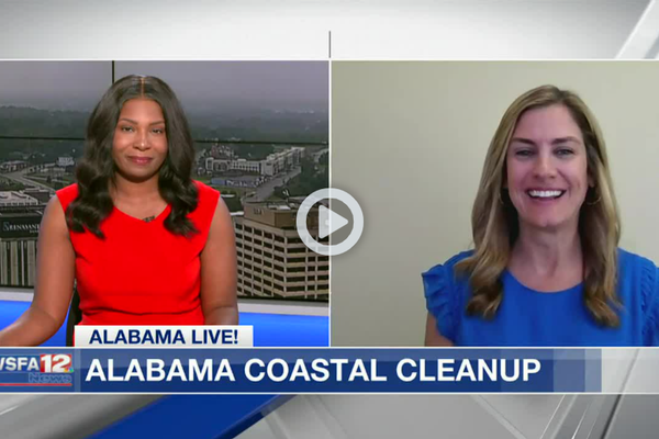 ALPALs talks to WSFA about the Upcoming Coastal Cleanup