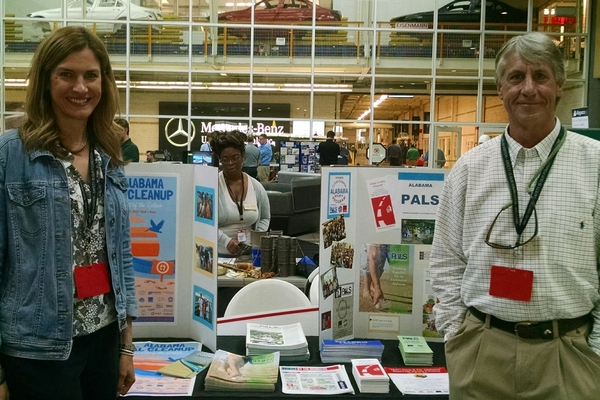 ALPALS Exhibits at Environmental Fair at Mercedes Benz