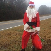 'Santa' spotted on Highway 14 in Prattville